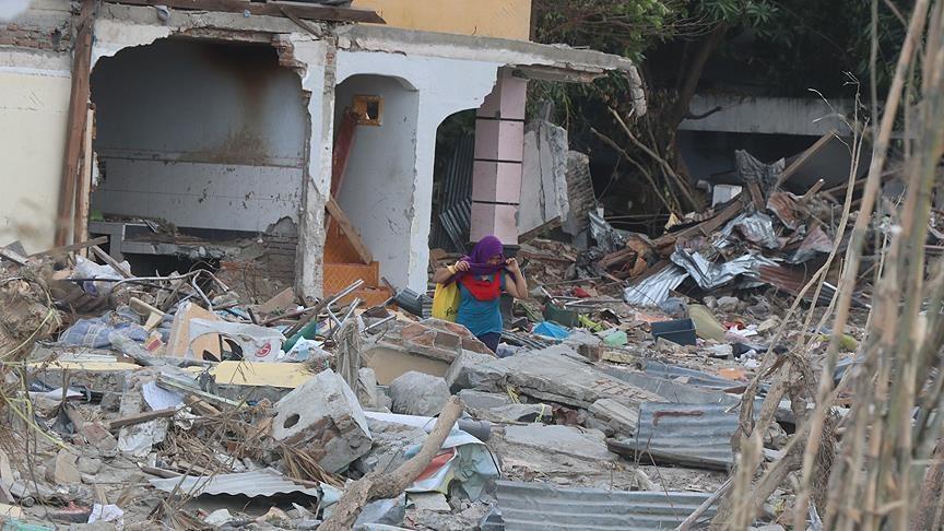 Число жертв землетрясения в Индонезии превысило 2 тыс (фото)