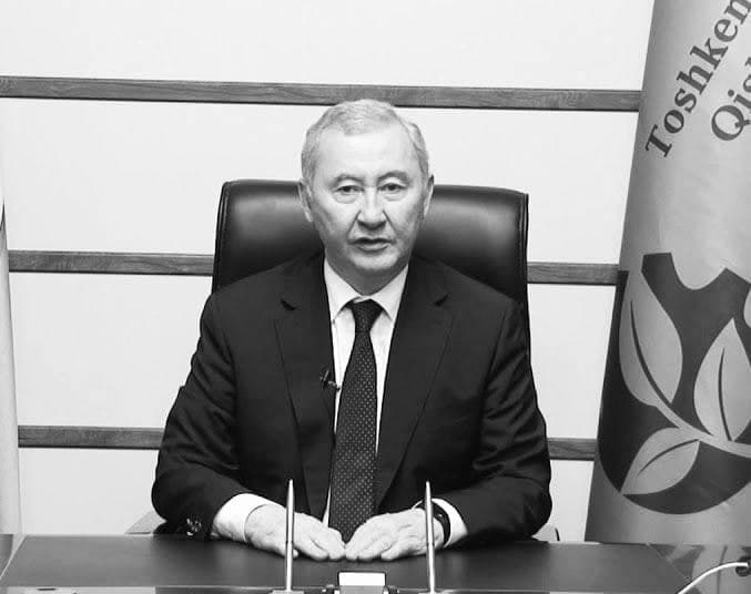 Скончался ректор ирригационного института Уктам Умурзаков