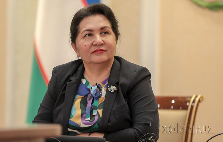 Танзила Нарбаева попросила у Матвиенко помощи для оставшихся в России узбекистанцев