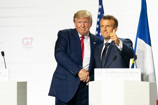 Трамп обсудил с Макроном саммит G7