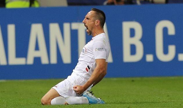 Рибери стал лучшим игроком чемпионата Италии по футболу в сентябре