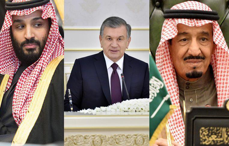 Shavkat Mirziyoyev Saudiya Arabistoni podshohi va valiahdini tabrikladi