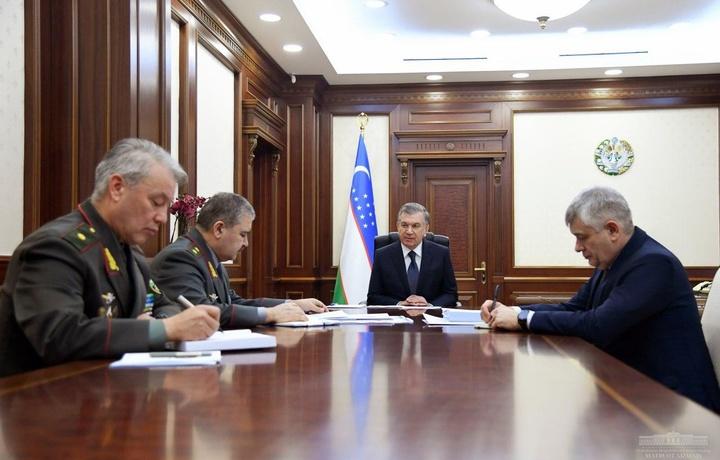 Шавкат Мирзиёев провел совещание с руководителями аппарата Совета безопасности и СГБ