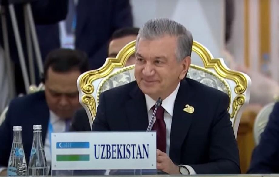 ШҲТ раислиги Ўзбекистонга берилди