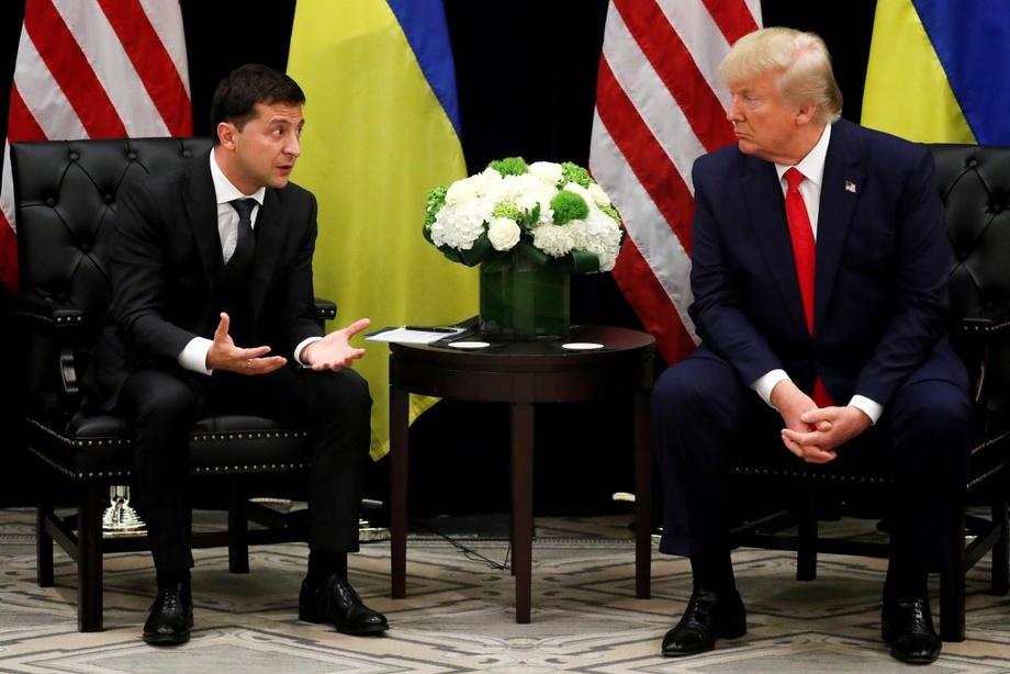 Трамп Зеленскийни «Россиянинг янги президенти» деб атади