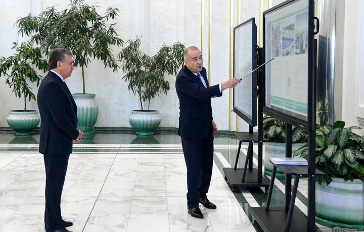 Prezident Toshkent shahrida rejalashtirilgan qurilish va loyihalar bilan tanishdi