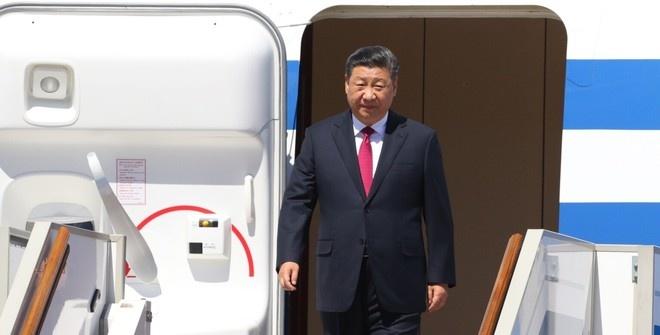 Глава Китая приехал в Грецию с официальным визитом
