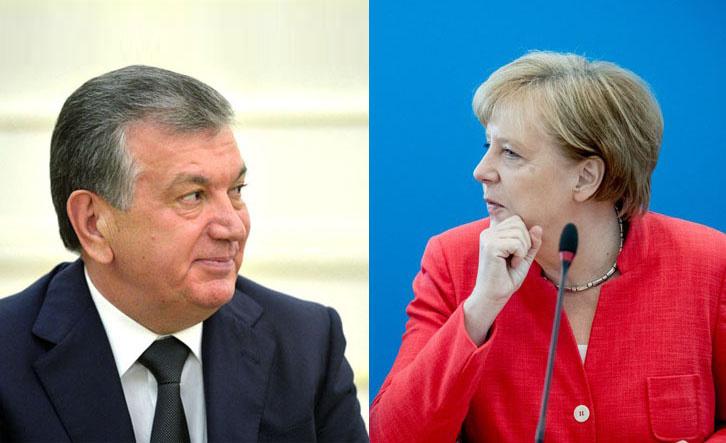 Шавкат Мирзиёв проведет переговоры с Ангелой Меркель