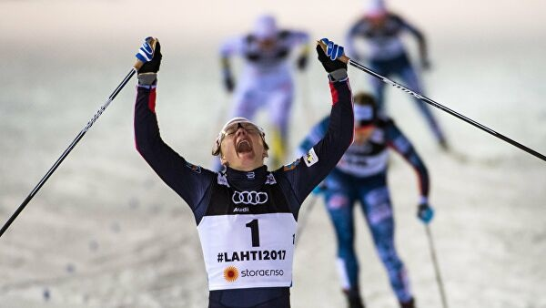 Норвежская лыжница победила на Кубке мира в Финляндии