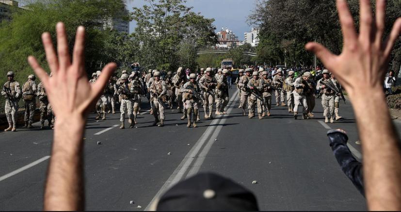 Аргентинское посольство в Чили эвакуировано из-за нападения