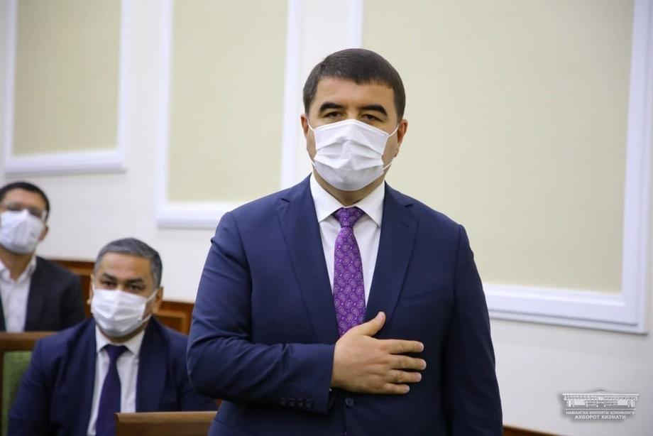 Шавкат Абдуразаков утвержден хокимом Наманганской области