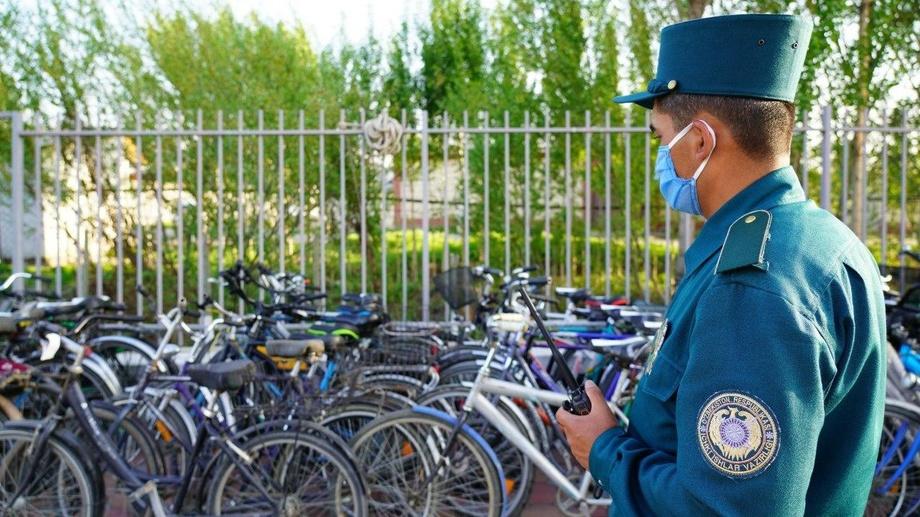 В Фергане за два дня 489 велосипедов поместили на штрафплощадку