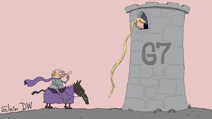 Nishonga urilgan o'q: taniqli rassomdan zaharxanda karikaturalar