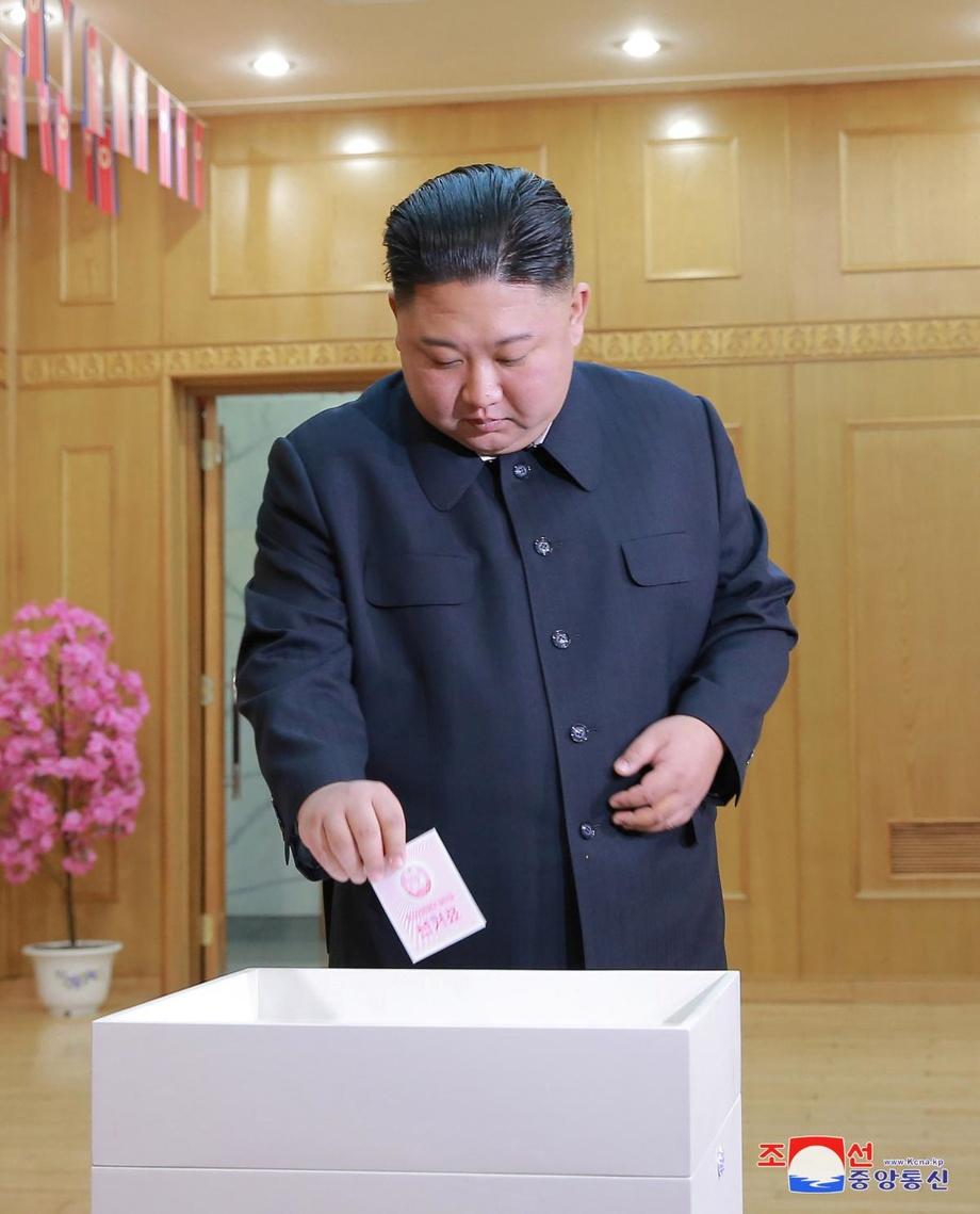 В Северной Корее проходят выборы в Верховное народное собрание