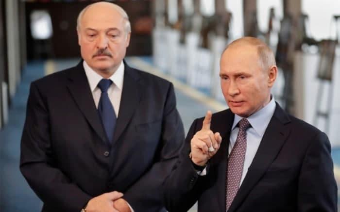 Putin Lukashenkoga yana moliyaviy ko'mak va'da qildi, faqat sharti bor...