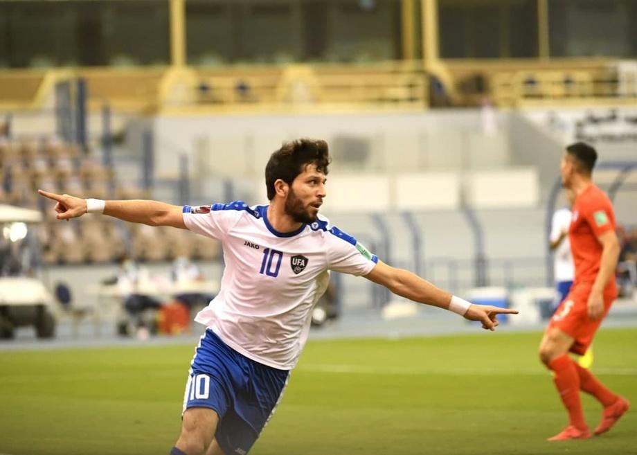 Узбекистан разгромил Сингапур со счетом 5:0 в отборочном турнире ЧМ-2022