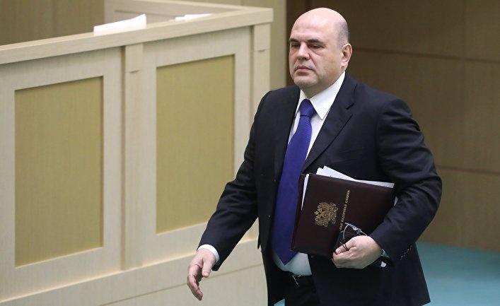 Михаил Мишустин Россия бош вазири бўлди