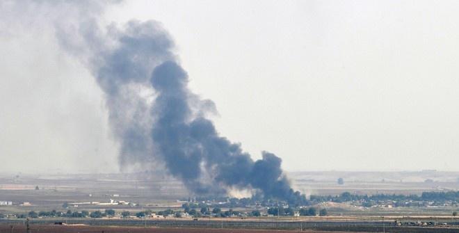 В сирийском городе Рас эль-Айн возобновились обстрелы