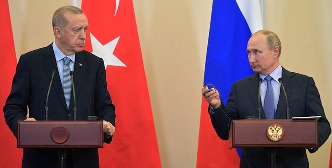 Путин и Эрдоган приняли по итогам встречи меморандум