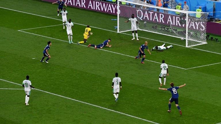 Сборные Японии и Сенегала сыграли вничью в матче ЧМ-2018 (видео)