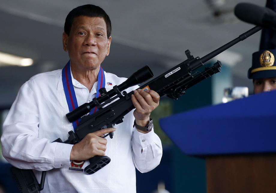 Duterte: «Hozir urushga kirsam, qonli qirg'in boshlanadi»