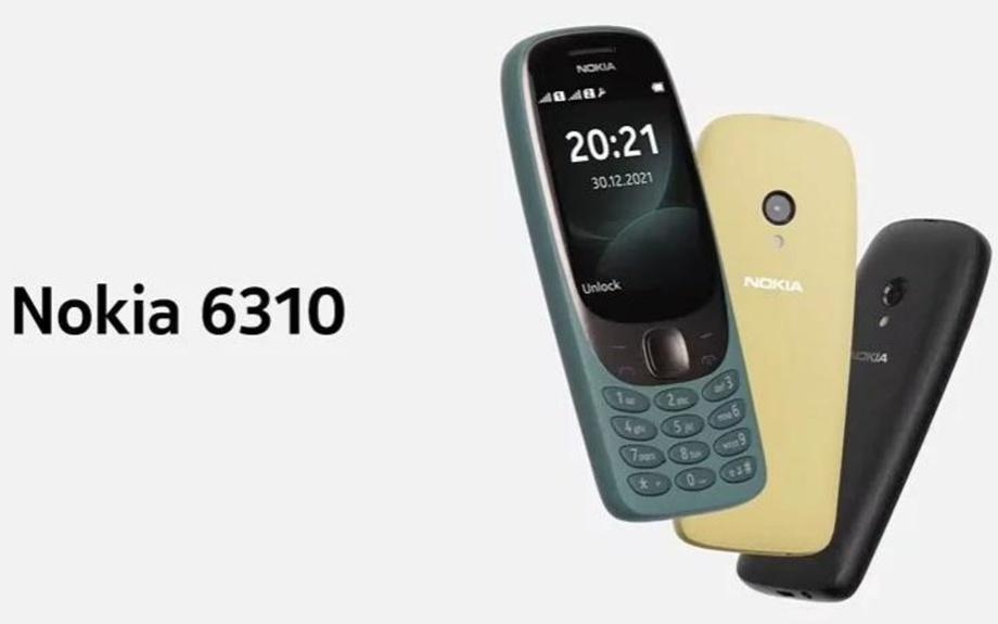 Возродился еще один легендарный кнопочный телефон — Nokia 6310 (видео)