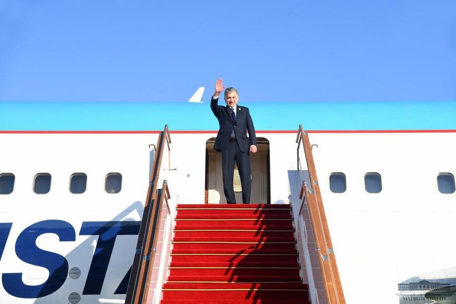 Prezident Toshkentga qaytdi