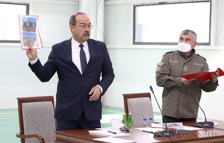 Yangi uylar taqsimlanishga tayyor – Bosh vazir Sirdaryoga bordi (foto)