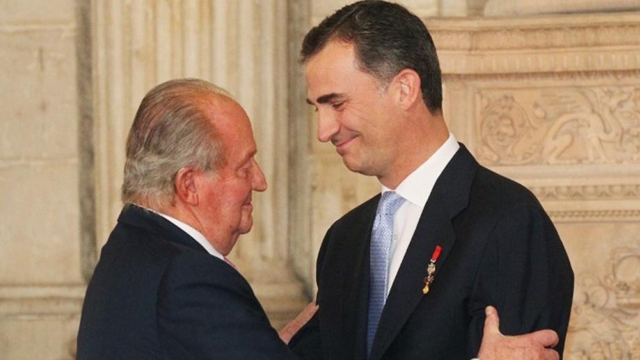 Испания қироли меросдан воз кечди — коррупцион можаро