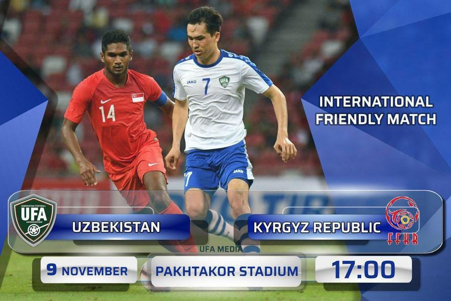 «Sport TV» O'zbekiston - Qirg'iziston o'yinini jonli efirda translyasiya qiladi