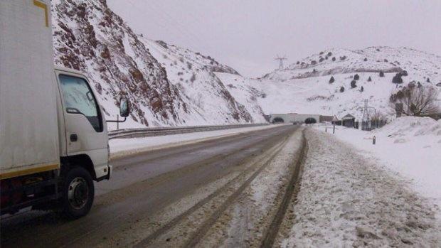 «Qamchiq» dovonida avtotransport harakati tiklandi