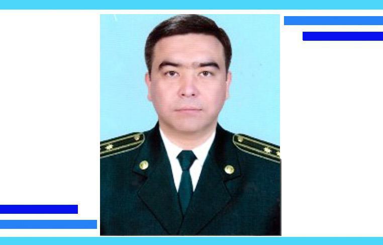 Назначен замначальника УВД Бухарской области