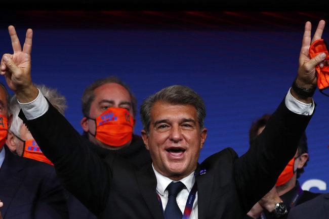 «Барселона»га президент сайланди